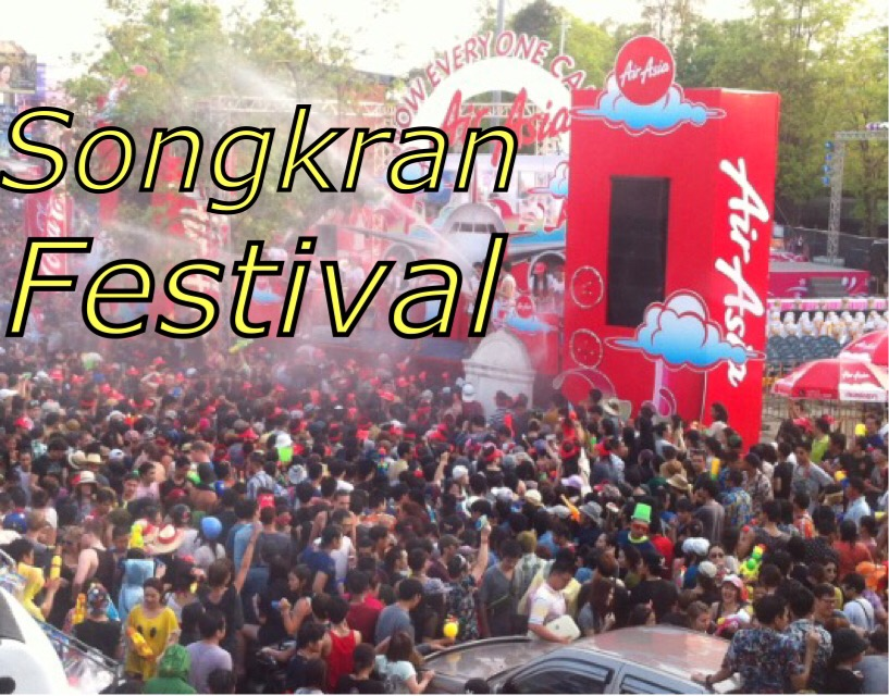 Songkran water festival in Chiang Mai!